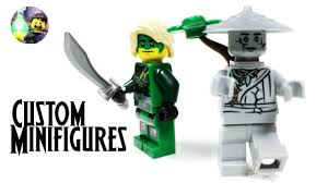 LEGO Ninjago Power-less Lloyd and Oni Titan Custom Minifigures from Hunted  - YouTube