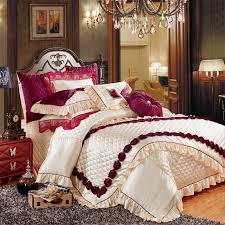 european luxury royal bedding set queen
