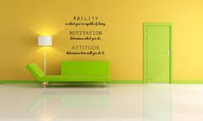 Inspirational Attitude Vinyl Wall Decal Quotes Wall Stickers Inspirational Decals Home Decor Decals J06 Walmart Com Walmart Com