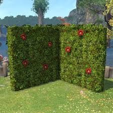 Corner Hedge Partition Outdoor Furnishings Hedges Partition