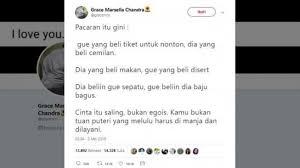 begini aturan pacaran ideal versi netizen yang viral di twitter
