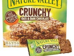 oats n dark chocolate granola bars