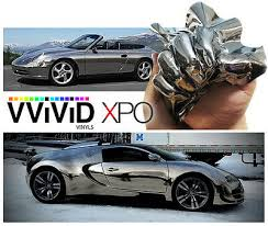 Auto Parts And Vehicles Vvivid Silver Chrome Car Vinyl Wrapping Decal Other Motors Apparel Merchandise