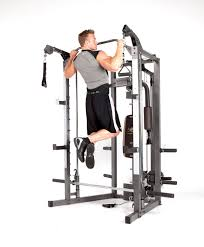 Marcy Smith Cage Machine with Workout Bench and Weight Bar Home Gym  Equipment – Team Immortal | Forever Fit | Fitness Products