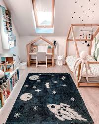 Washable Rug Universe In 2020 Toddler Boy Room Decor Bright Kids Room Toddler Rooms