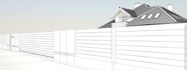 Xcel Fences Day And Night Modern Fence Lublin Xcel