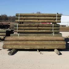 Wood Fence Post 10 Ft L X 7 In Dd Farm Ranch