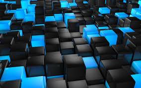 خلفيات زرقاء 3d