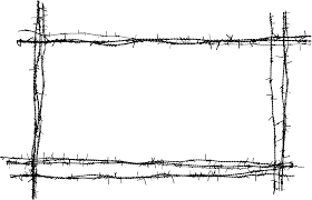 8 Barbed Wire Frame Png Transparent Onlygfx Com