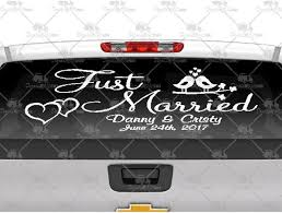 Best Prices On Just Married Birds Decals And Stickers