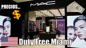 mac cosmetics duty free miami you