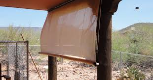 desert home shade extremely low tech