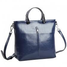 genuine leather tote bag dark