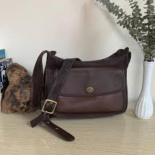 vintage coach bag coach taft bag brown