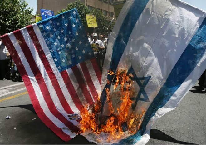 """burning israel flag in the iran ile ilgili görsel sonucu"""""""