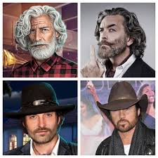 Conrad kind of reminds me of Timothy Omundson (I think it's the hair), and  Tony Wood has looked incredibly familiar to me from the start, but the best  I can come up