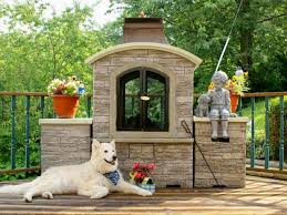 deck fireplace ideas and options