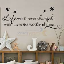 Life Was Forever Changed With Moments Family Wall Decal Decorative Vinyl Wall Sticker Home Decor 8175 Vinyl Wall Stickers Wall Stickerstickers Home Decor Aliexpress