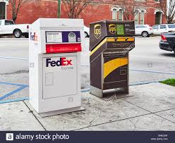 FedEx and UPS collection or drop off ...