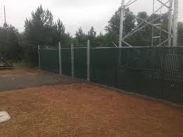 Galvanized Chain Link Fence Danville Va Fence Scapes Llc