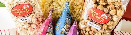 what s popp n gourmet popcorn