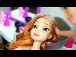rapunzel barbie beauty salon makeover