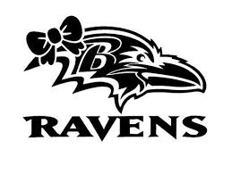Baltimore Ravens Bow Decal Nfl Vinyl Car Decal 100 Weather Proof 6 Life Customdecal Baltimoreravens Car Decals Vinyl Vinyl Decals Custom Decals