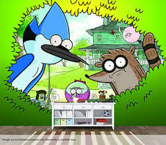 The Regular Show Wall Mural Wall Art Quality Pastable Wallpaper Decal Ebay