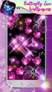 النيون خلفيات حيه مع صور فراشات في الخلفية For Android Apk Download