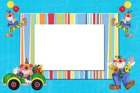 Tarjetas De Cumpleanos Infantiles Para Editar E Imprimir
