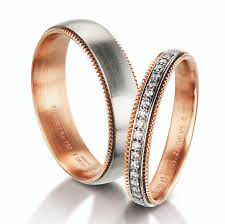 enement ring and wedding band