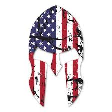 American Spartan Decal Sticker For Car Window Laptop And More 951 Yoonek Graphics