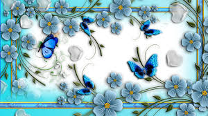 68 erfly and flower wallpaper on