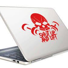Shut Up And Lift Skull Dumbbells Bodybuilding Window Decal Sticker