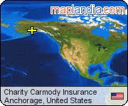 Charity Carmody Insurance   Anchorage Google Satellite Map