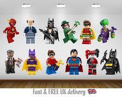 Lego Batman Kids Bedroom Vinyl Decal Wall Art Sticker 12 Image Selection 1 99 At Ebay Latestdeals Co Uk