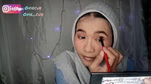 tutorial makeup untuk mata sipit atau