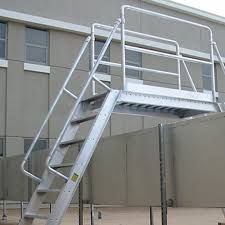 Aluminum Ships Stairs Precision Ladders Llc Caddetails