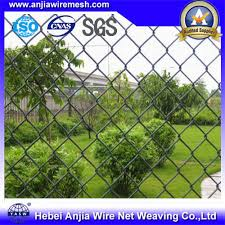 China Pvc Coated Wire Mesh Chain Link Fence Parts For Building Material With Sgs China Pvc Coated Wire Mesh Green Fence