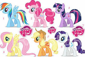 My Little Pony Sticker Wall Decal Decal Mlp Ebay