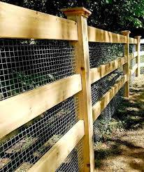 Custom Post And Rail Fencing With Welded Wire Post And Rail Fence Wire And Wood Fence Backyard Fences