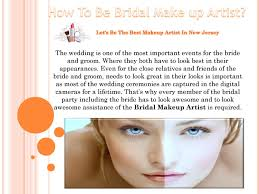 how to be bridal make up artist by