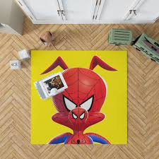 Spider Man Into The Spider Verse Movie Kids Bedroom Living Room Floor Carpet Rug Ebeddingsets