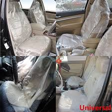 disposable plastic seat covers vehicle