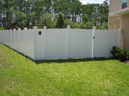 6ft Tg Vinyl Privacy Fence