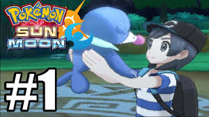 Pokemon Sun & Moon Gameplay Walkthrough Part 1 - Intro - Full Game ...