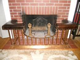 fender fireplace seat bench