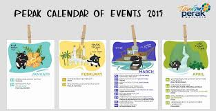 perak calendar of events 2019 from