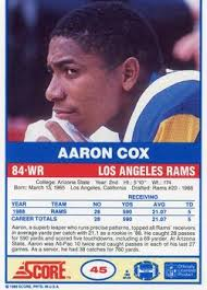 Aaron Cox Gallery | Trading Card Database