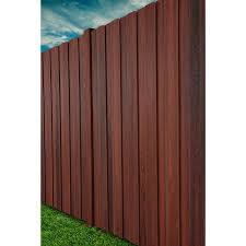 Shop Woodshades Composite Fence Post Common X 4 In X 8 Ft Actual Fence Styles Fence Pickets Fiberon